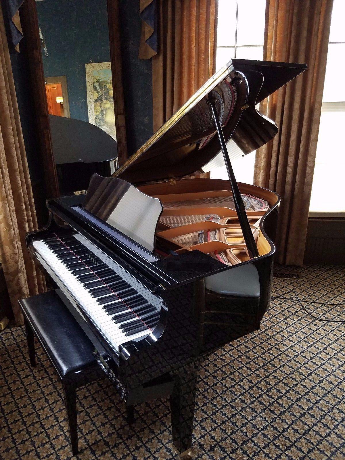Yamaha Disklavier Classic Baby Grand Piano Dgp1xg Excellent Condition Baby Grand Pianos Grand Piano Piano