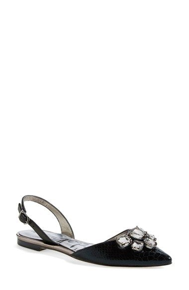 fb73176fa2f Sam Edelman  Reece  Slingback Pointy Toe Flat (Women) available at   Nordstrom