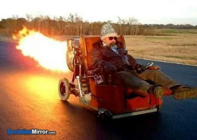 Bon Redneck Rocket Chair