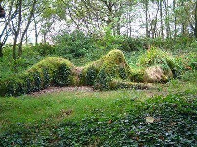 Nature herbe femme women mousse