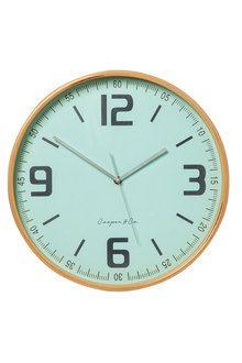 Cooper And Co Moonbeam Clock Clock Wall Clock Coastal Homes