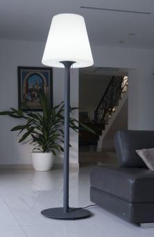 Garten Im Quadrat Outdoor Stehleuchte Standy Designer Stehlampe Fur Balkon Terrasse Garten Weiss 3 Grossen Stehlampe Haus Deko Wohnzimmer Leuchte