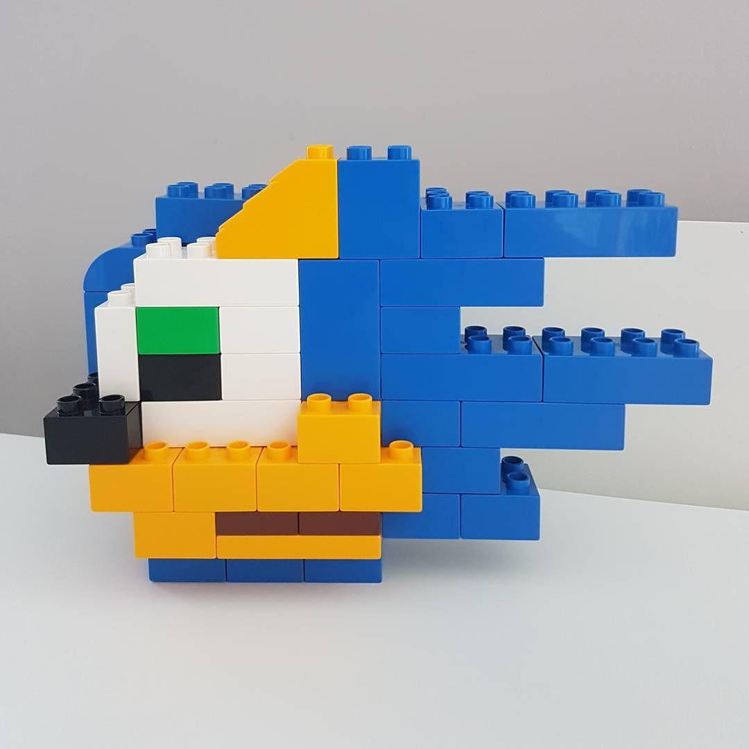 A Challenge Complete Sonic The Hedgehog Duplo Lego Legoduplo Legogram Bricks Brickcentral Bricknetwork Legoart Du Lego Duplo Lego Art Lego Club