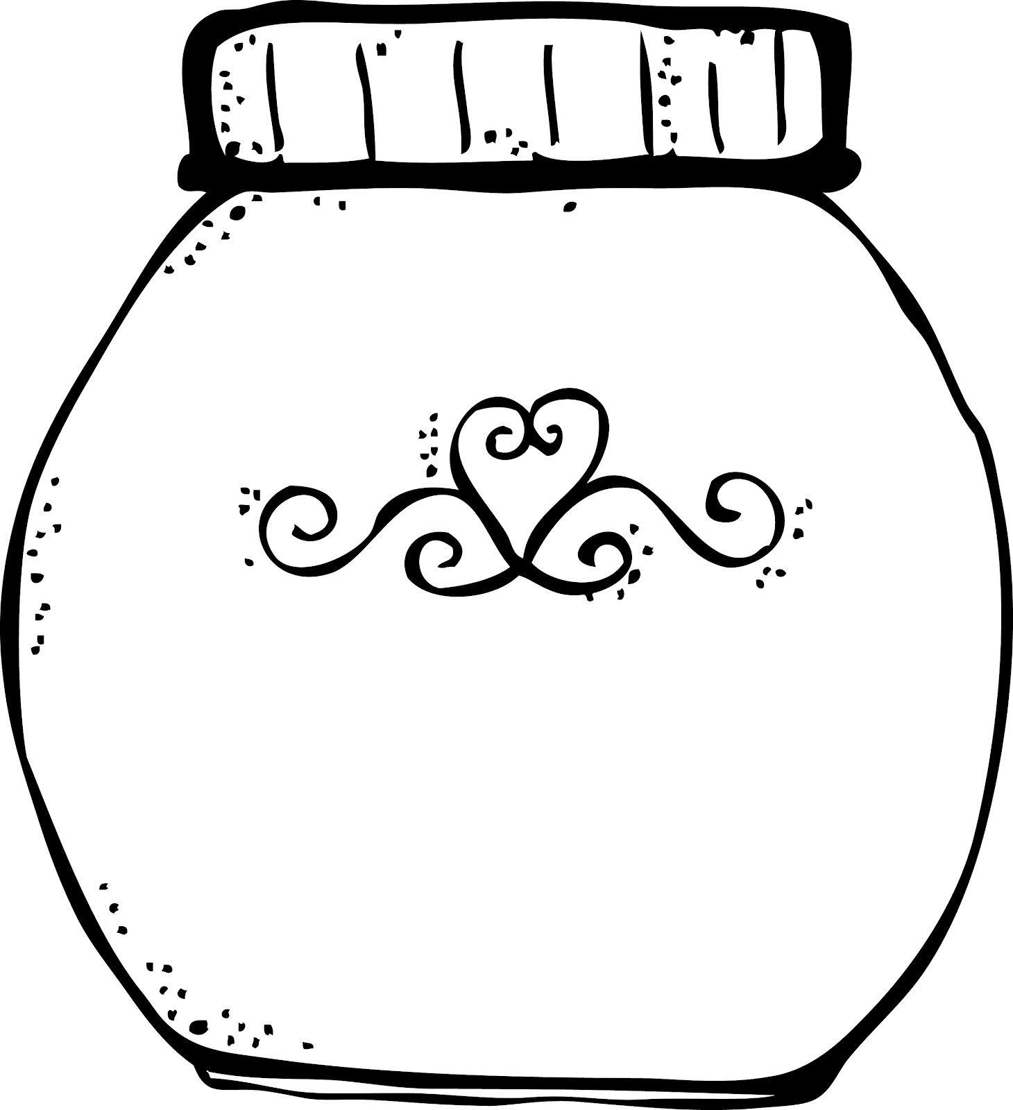 Melonheadz For Sebastian Jam Jars Mason Jar Clip Art Clip Art Melonheadz
