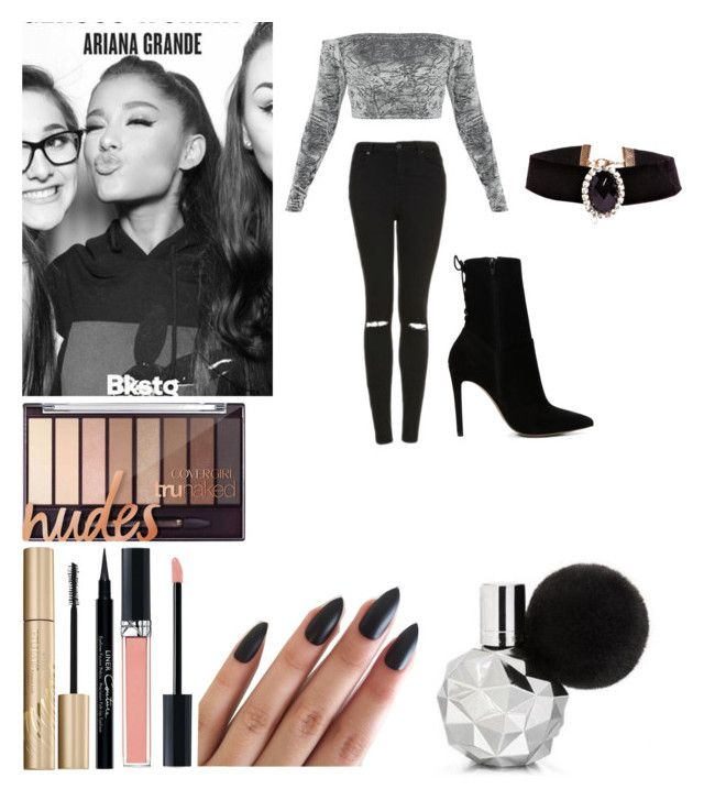 03.14.2017 | DWT M&G Chicago by officialarianagrandebutera on Polyvore featuring polyvore fashion style Topshop ALDO Boohoo Christian Dior Stila Givenchy clothing