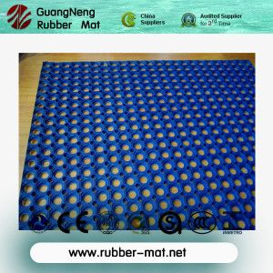 Hot Item Colorful Anti Slip Boat Deck Rubber Mat Outdoor Playground Rubber Floor Mat Rubber Playground Flooring Rubber Flooring Playground