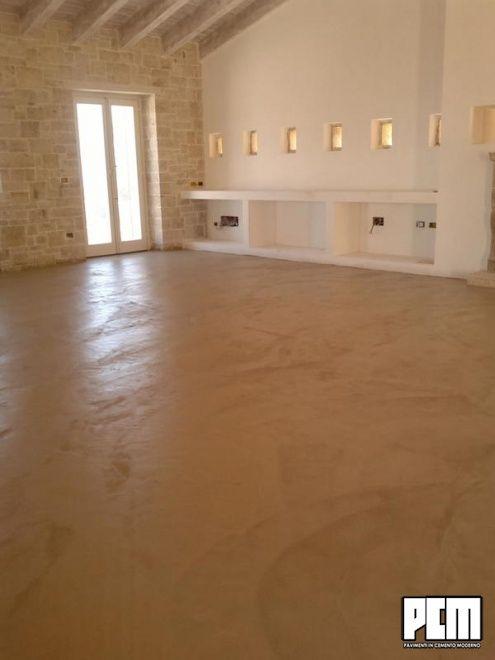 Pavimenti cemento salotto casa pinterest cemento for Pavimenti salotto