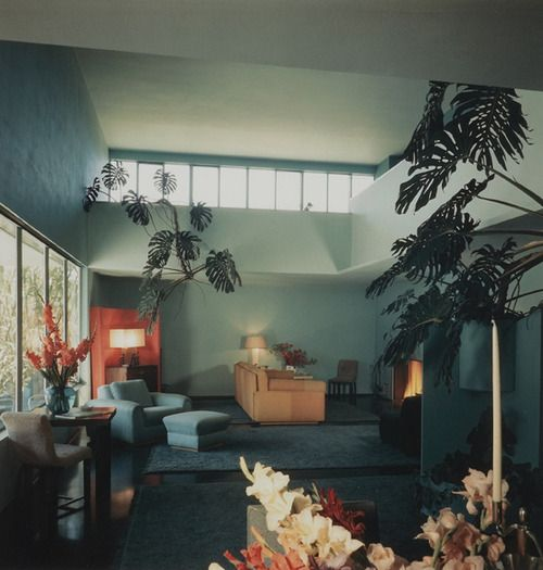 Von Sternberg House, Richard Neutra, Northridge, California, 1935-36 — Julius Shulman Built for Hollywood director Josef von Sternberg