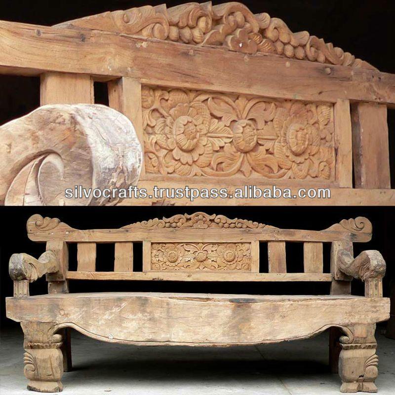 Royal Antique Indian Carved Teak Wooden Furniture from ...