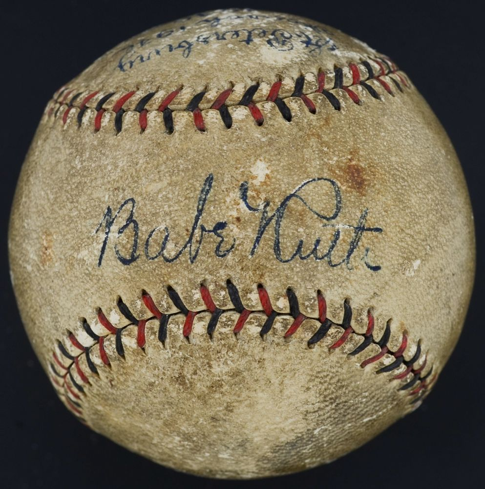 Bold 1930 Babe Ruth Single Signed Autographed Onl Baseball Psa Dna Loa Ad03408 Baberuth Collectibles Autog Babe Ruth Babe Ruth Baseball Babe Ruth Autograph