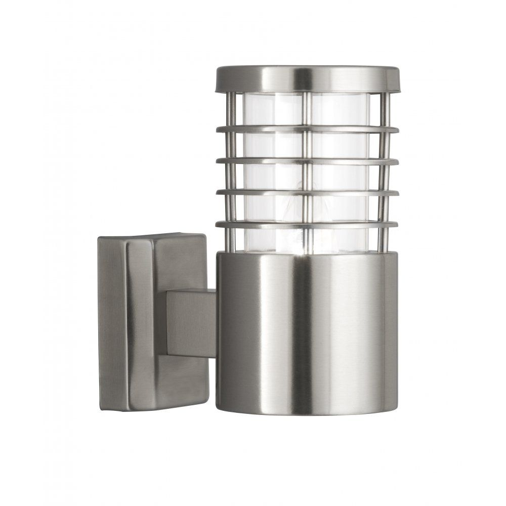 Maxim lighting view led u outdoor white wall mount in stainless