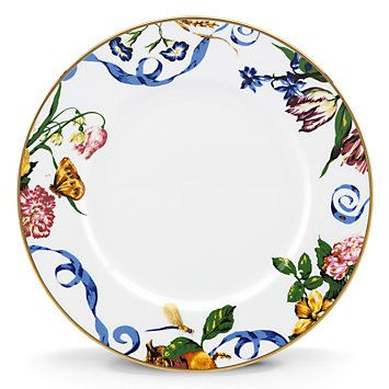 Scalamandre Stravagante Dinner Plate by Lenox  Available at Jan's Perfect Presents