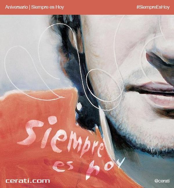 Hace 12 años se editaba Siempre Es Hoy, el tercer álbum como solista de Cerati.