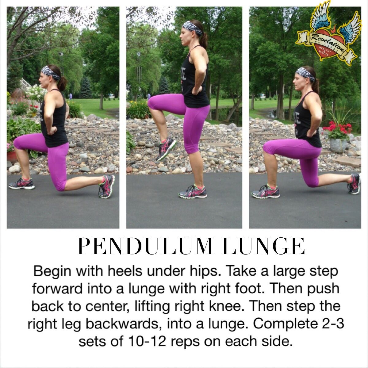 Pendulum Lunge! Give it a try and let us know what you think! revelationwellness.org