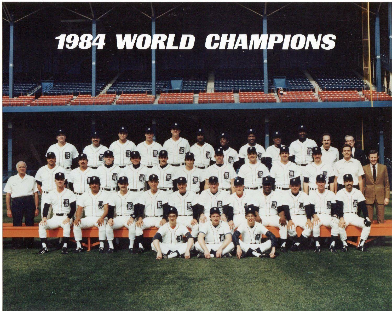 1984 Detroit Tigers Detroit Tigers Tiger World World Series Winners