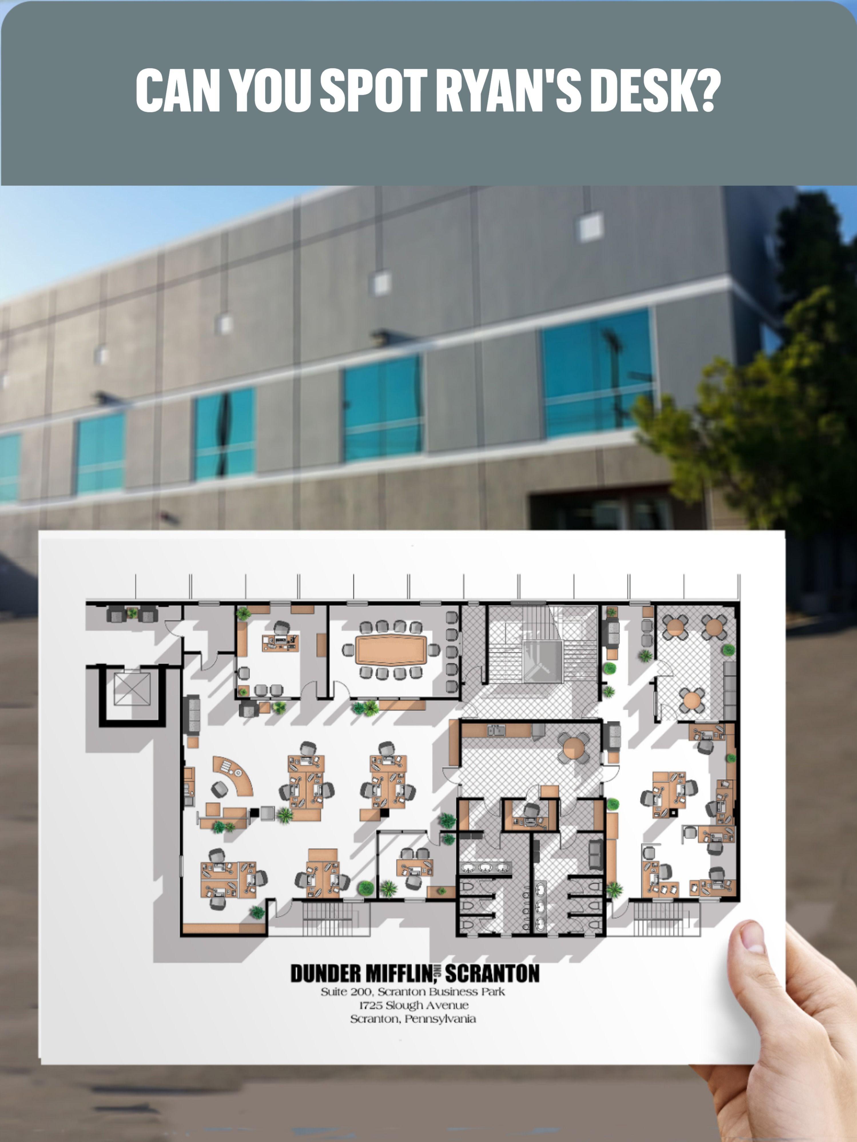 Dunder Mifflin Office Layout : dunder, mifflin, office, layout, Ryan's, Layout, Office, Floor, Plan?, Plans,, Plan,, House, Drawing
