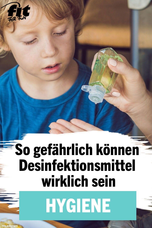 Experten Warnen So Gefahrlich Konnen Desinfektionsmittel Sein
