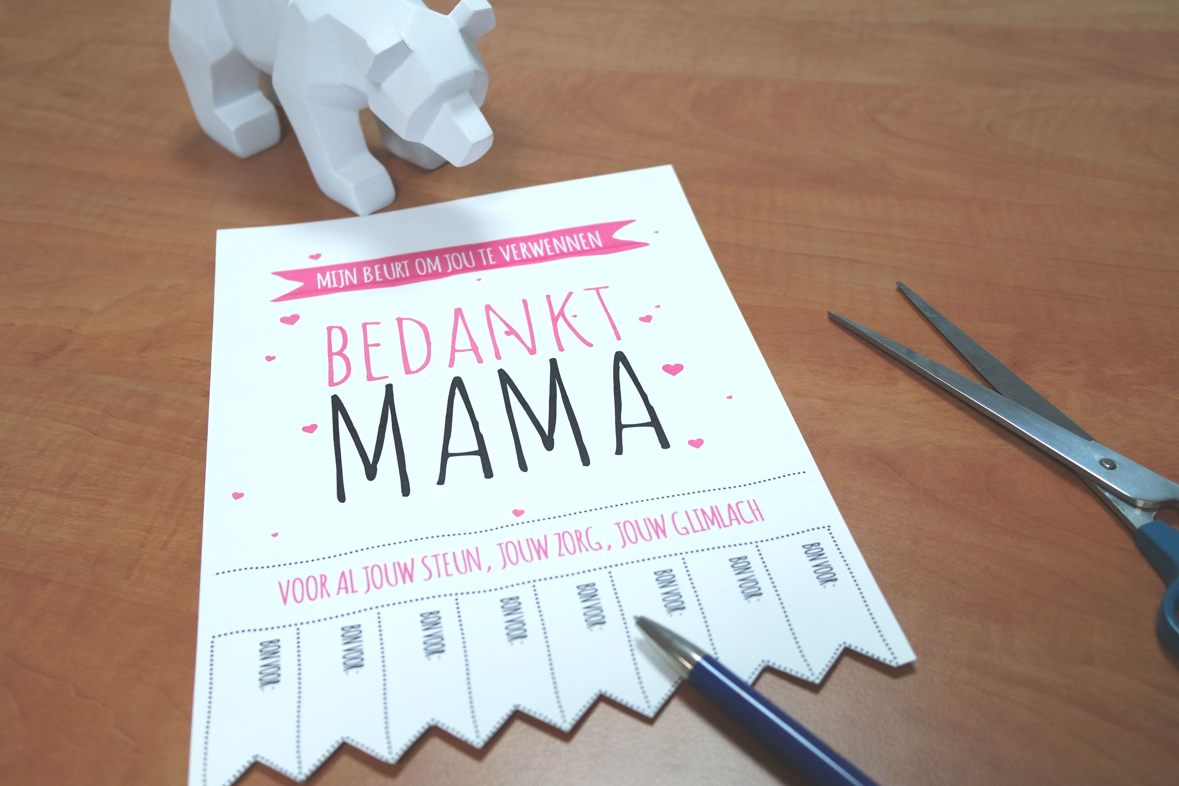 Fabulous Moederdag: 9 creatieve ideeën om je mama te verrassen! | Knutselen @OL76
