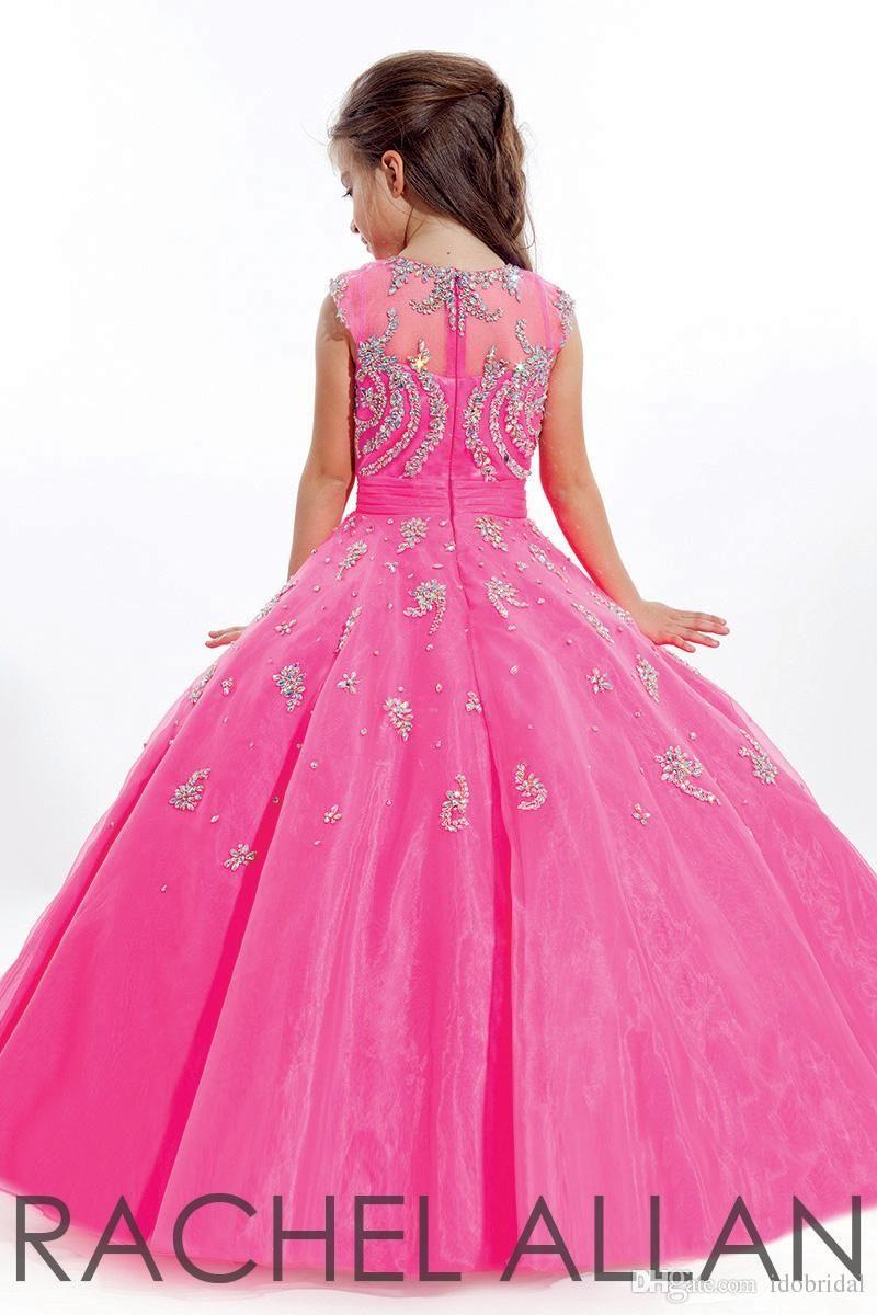 2015 Niño vestido de vestir de belleza para las niñas Vestido de ...