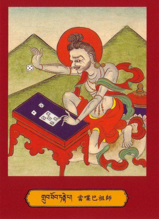 "Mahasiddha Tantepa… Tandhepa / Tandhi (cho lo pa): ""The Dice Player""/""The Gambler"""