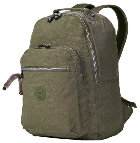 37cd9eac32 Kipling Seoul Large Backpack with Laptop Protection - Forest Green Kipling,.