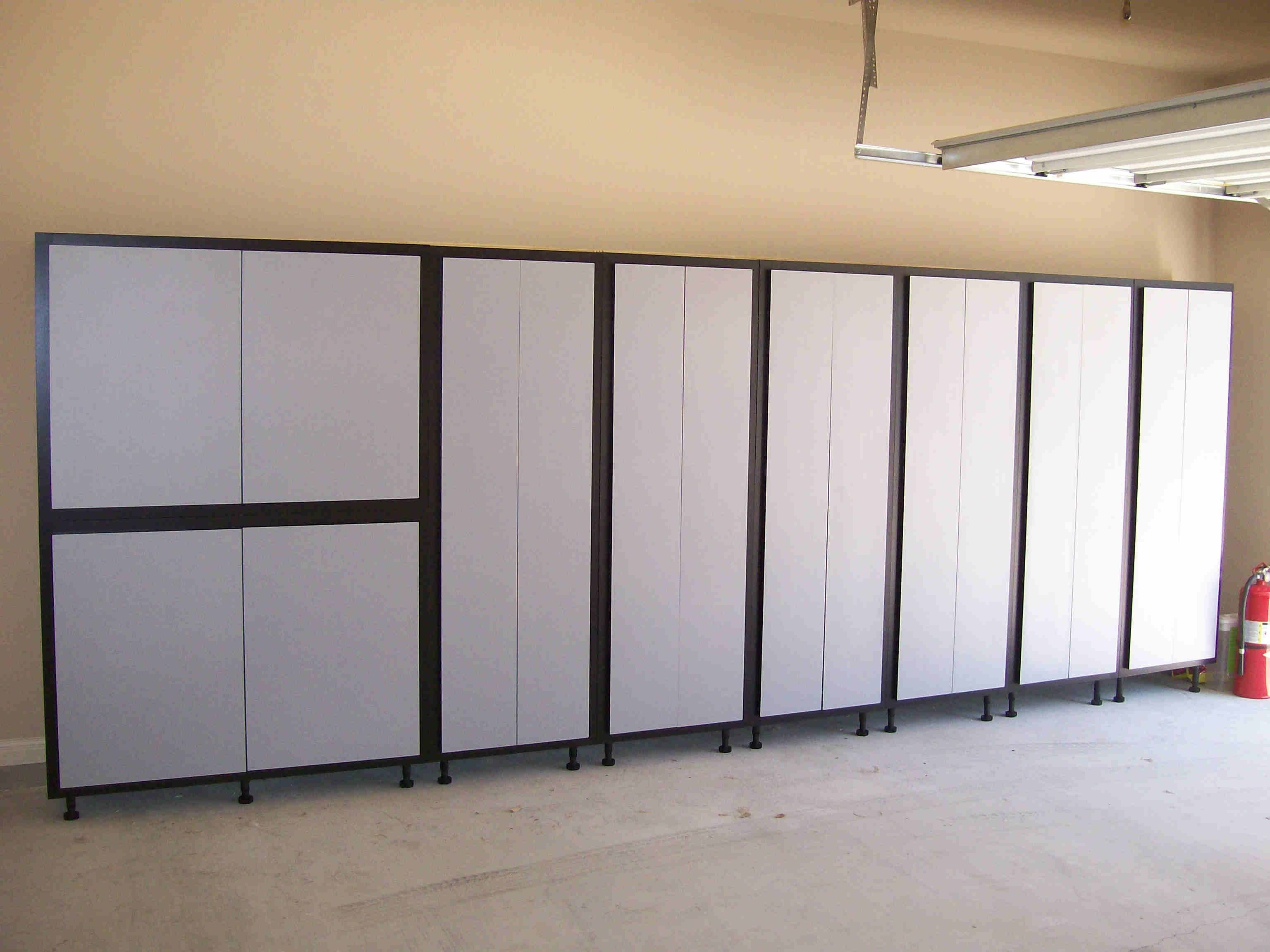 Storage Cabinet With Doors Garage
