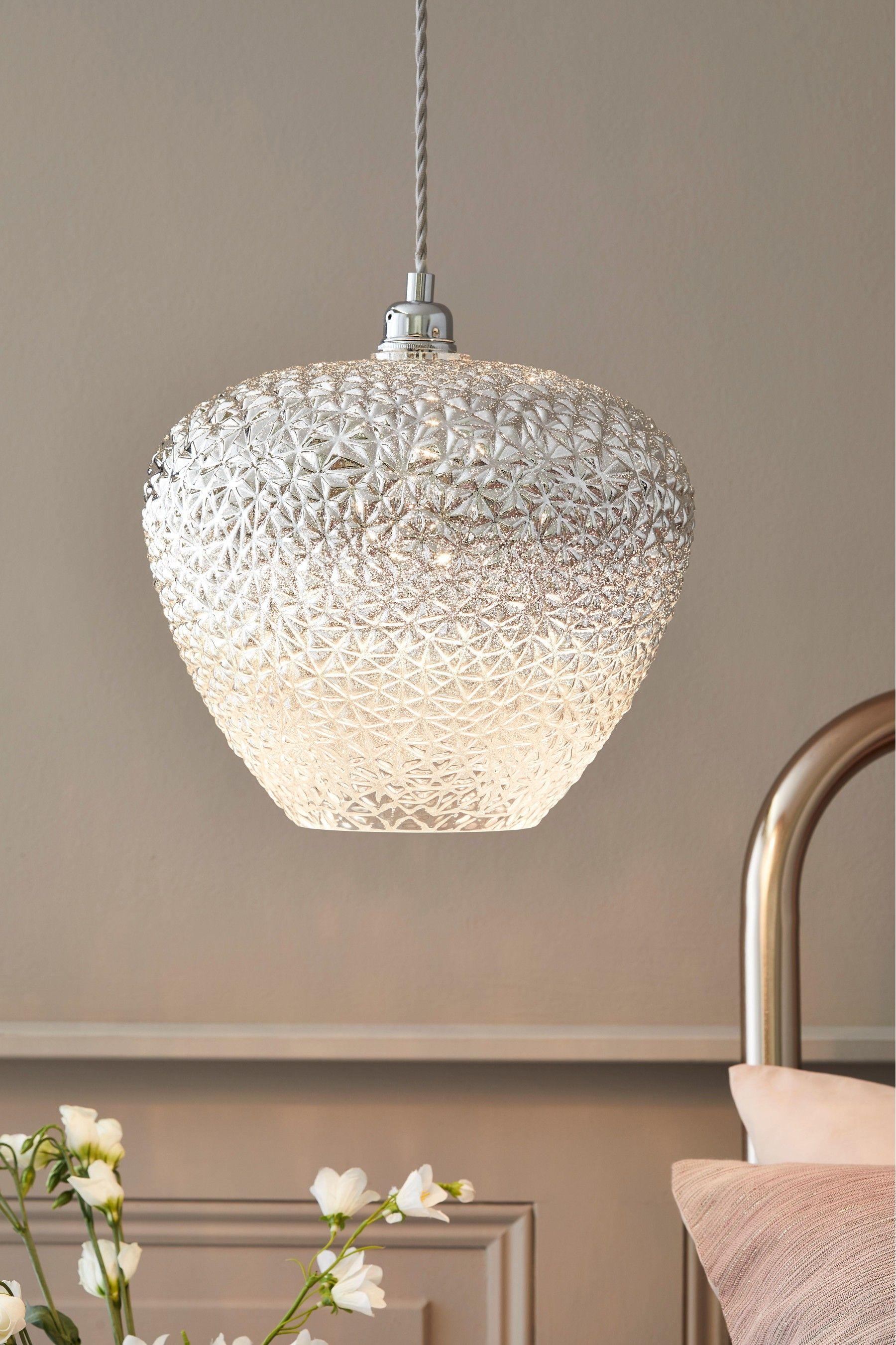 Monroe Easy Fit Shade Wall Ceiling Lights 60 Glass Led Bulb