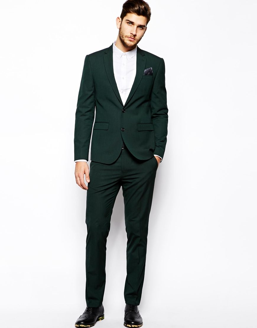 Slim Fit Suit Jacket In Dark Green I Do Plan To Get Married One