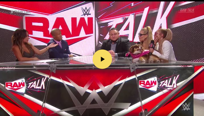 Watch Wwe Raw Talk 8 17 2020 Wwe Watch Wrestling Wwe Raw Videos