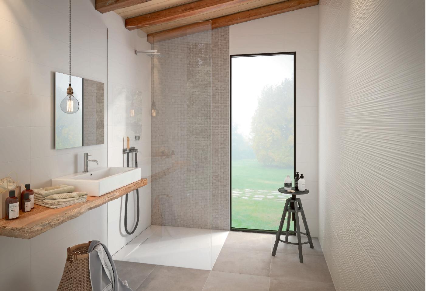 Marazzi Absolute White Strutturato Fiber 3d Sat 25x76 Cm M022 Best Bathroom Designs Bathroom Design Bathroom Trends