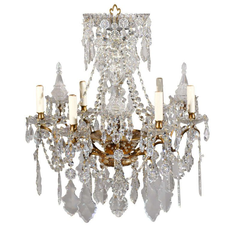 French Chandelier | From a unique collection of antique and modern chandeliers and pendants  at https://www.1stdibs.com/furniture/lighting/chandeliers-pendant-lights/