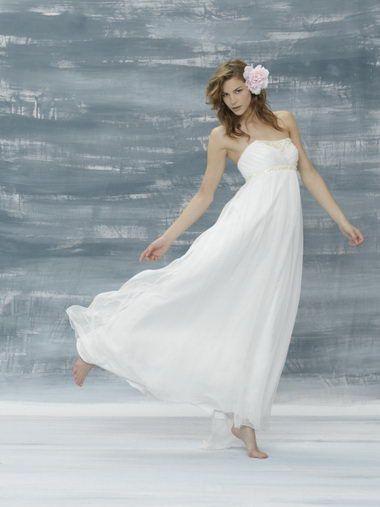 Casual White Wedding Dress Photo Album - Reikian