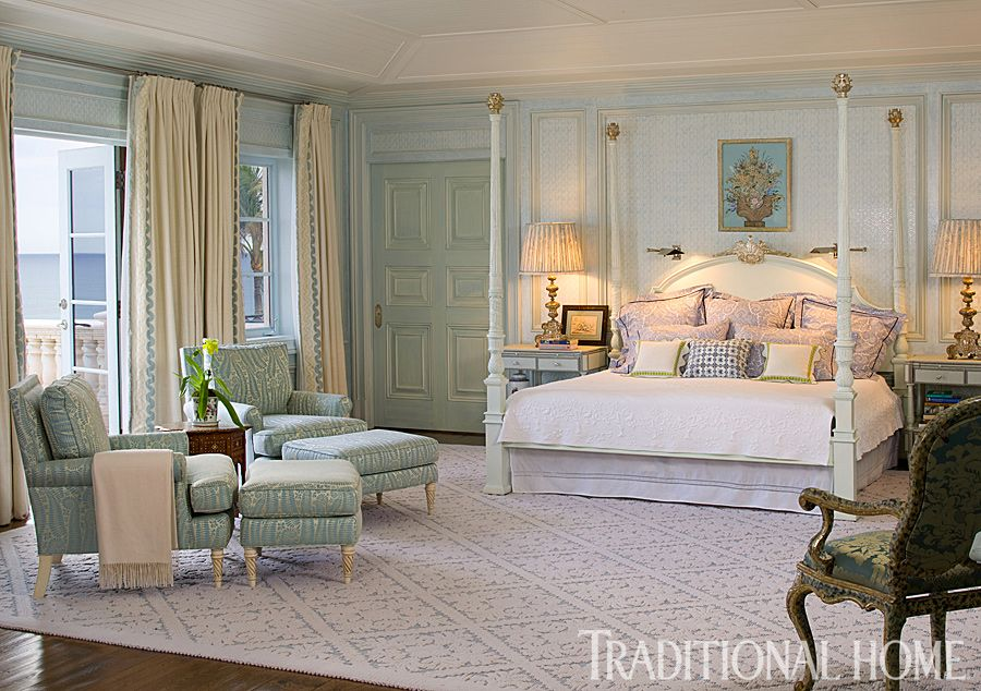 Palm beach home with colorful lavish interiors id for Traditionelles deutsches haus