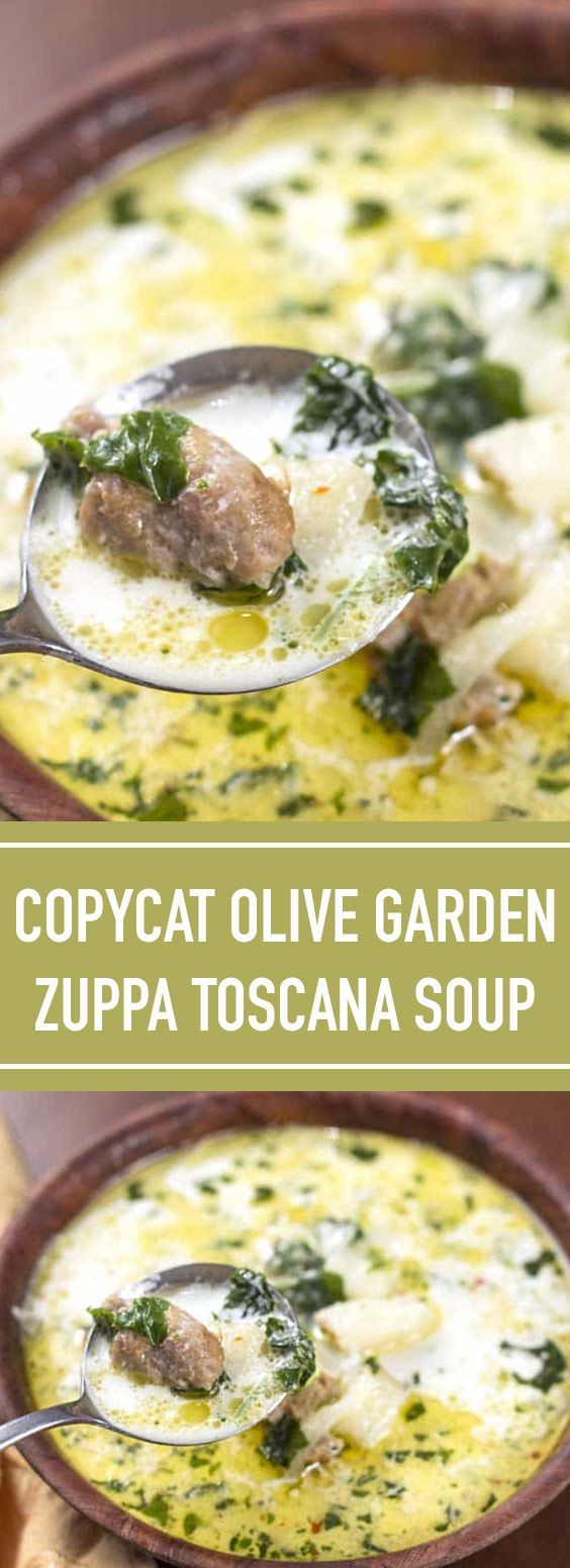 Copycat Olive Garden Zuppa Toscana Soup | Who doesn't love a good soup? Especially when the weather gets a bit cooler and you're looking for yummy ways to warm up yourself and your family. #zuppa #soup #toscana | foodielicious.site #zuppatoscanasoup Copycat Olive Garden Zuppa Toscana Soup | Who doesn't love a good soup? Especially when the weather gets a bit cooler and you're looking for yummy ways to warm up yourself and your family. #zuppa #soup #toscana | foodielicious.site #zuppatoscanasoup