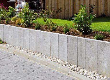 U-Steine \ L-Steine Garten Pinterest Retaining walls - gartenideen wall