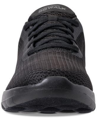 d4eb6a226783 Skechers Women s GOwalk Joy - Paradise Wide Width Casual Walking Sneakers  from Finish Line - Black 11