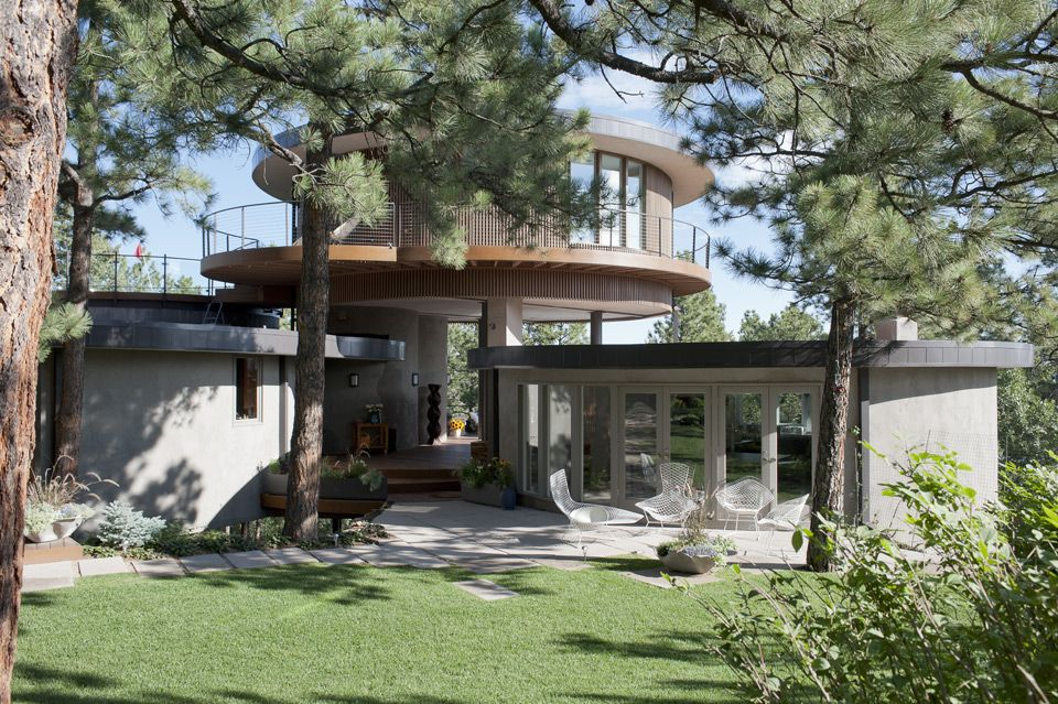 Emily Summers Design Associates The Round House, Colorado Springs | Luxury homes, interior design inspiration | Round house, Design, House styles