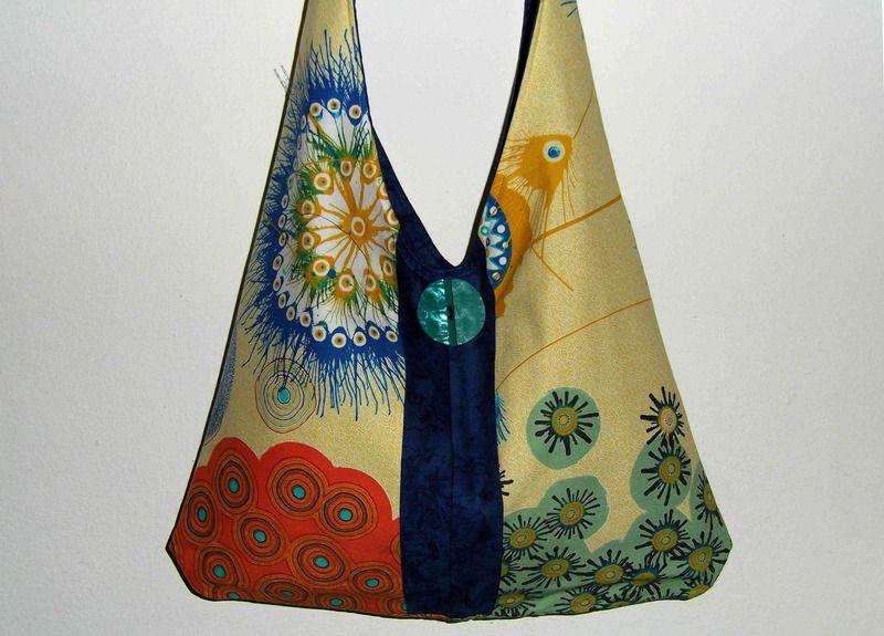"""Tasche """"Hippie"""" Unikat von scarlettscharlachrot auf DaWanda.com"""