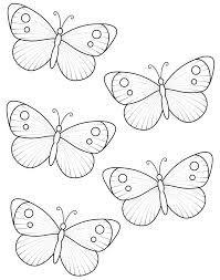 Resultado de imagen de plantillas goma eva mariposas