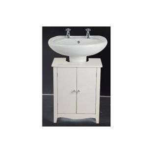 Swell Inspire Vintage Undersink Cupboard White From Homebase Co Home Interior And Landscaping Ologienasavecom