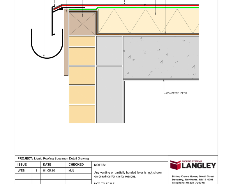 Image Result For Flat Roof Detail Drawing Flat Roof Pin On G A D Construction Details Cype Fig012 A Encounter Of Incli Flat Roof Design Flat Roof Roof Detail