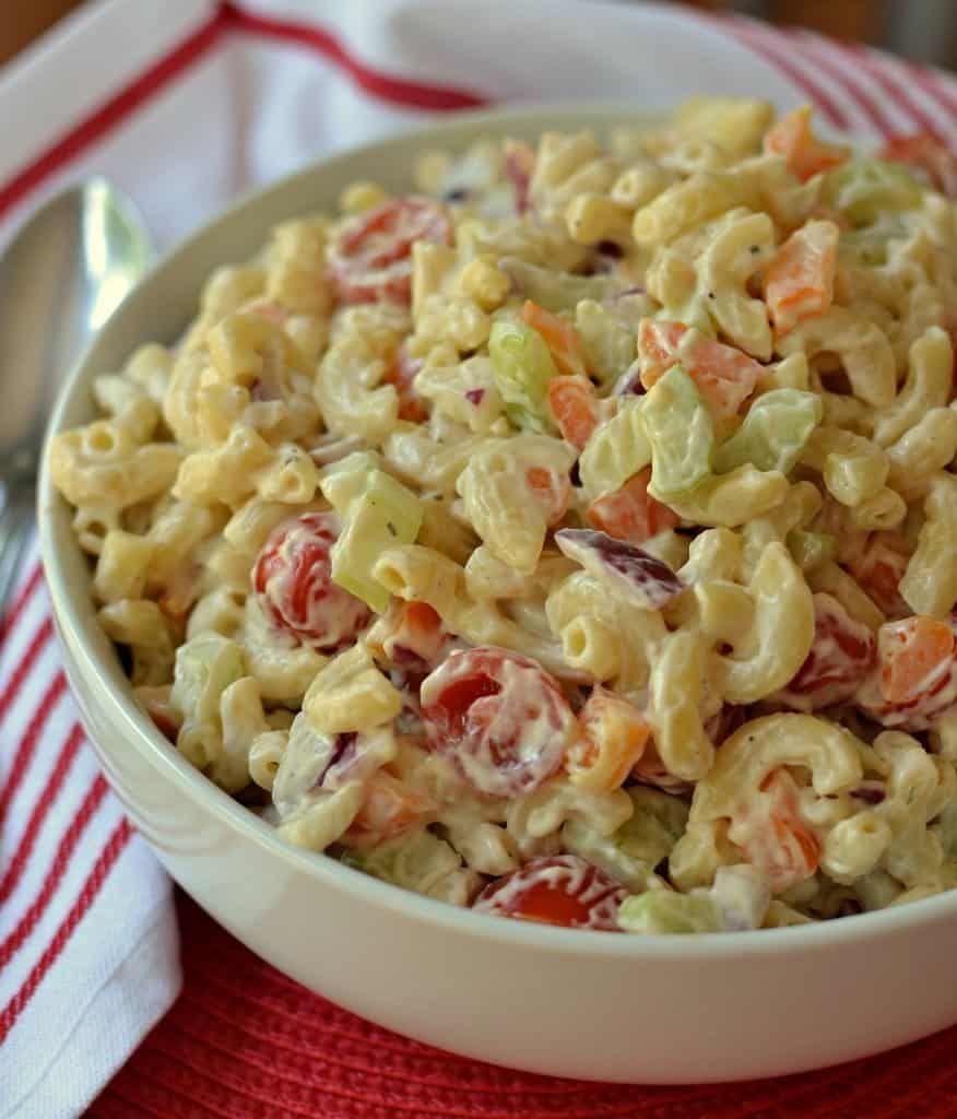 Creamy Macaroni Salad Recipe Recipe Macaroni Salad Recipe Creamy Macaroni Salad Macaroni Salad