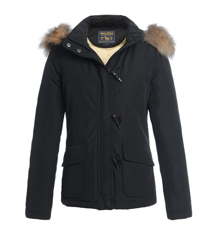 sports shoes 68636 9681b €326.26 Woolrich Donne Parka Blizzard Giacca Nero | Clothes ...