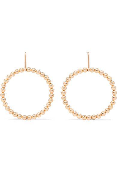 Saskia Diez Fringe 18-karat Gold-plated Earrings fOiQHF1kM