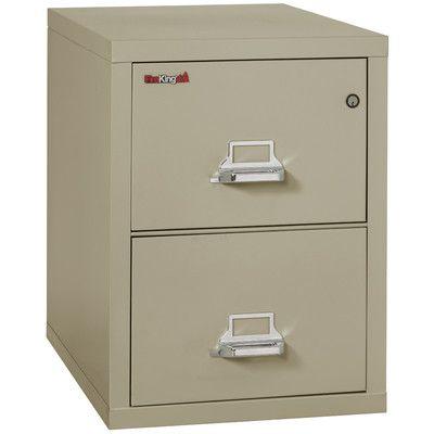 Fireking Fireproof 2 Drawer Vertical File Cabinet Filing Cabinet Cabinet Drawers
