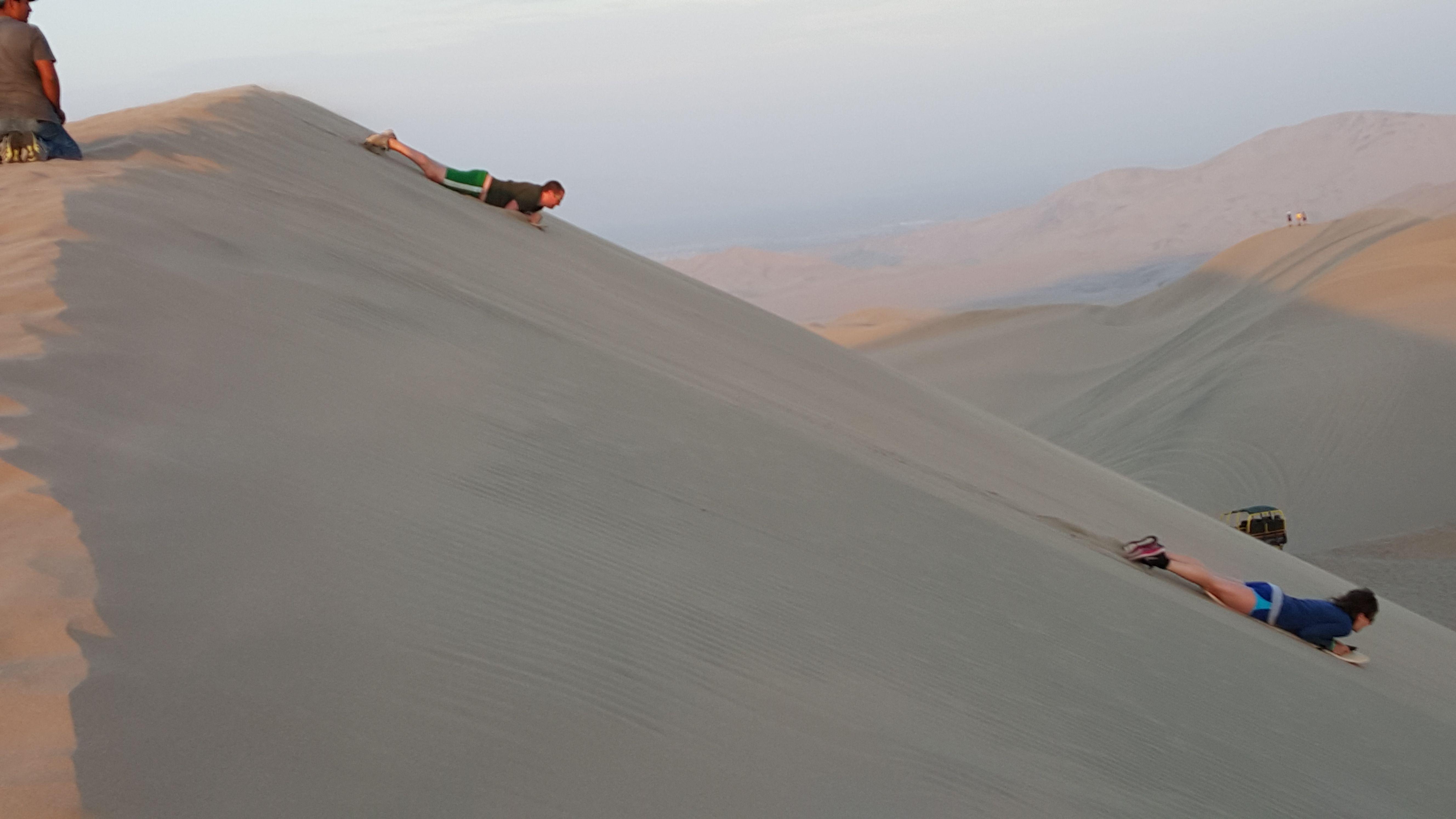 Want Adventure? Sandboarding in Ica should top your list
