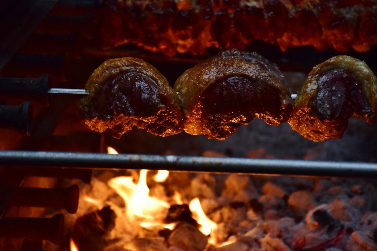 BBQ's add fantastic theatre to any event and our Brazilian BBQ rotisserie is always the main actor!!!