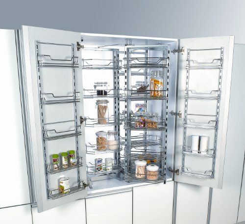European slide out pantry cupboard pantry kitchen Kitchen cabinet organization systems