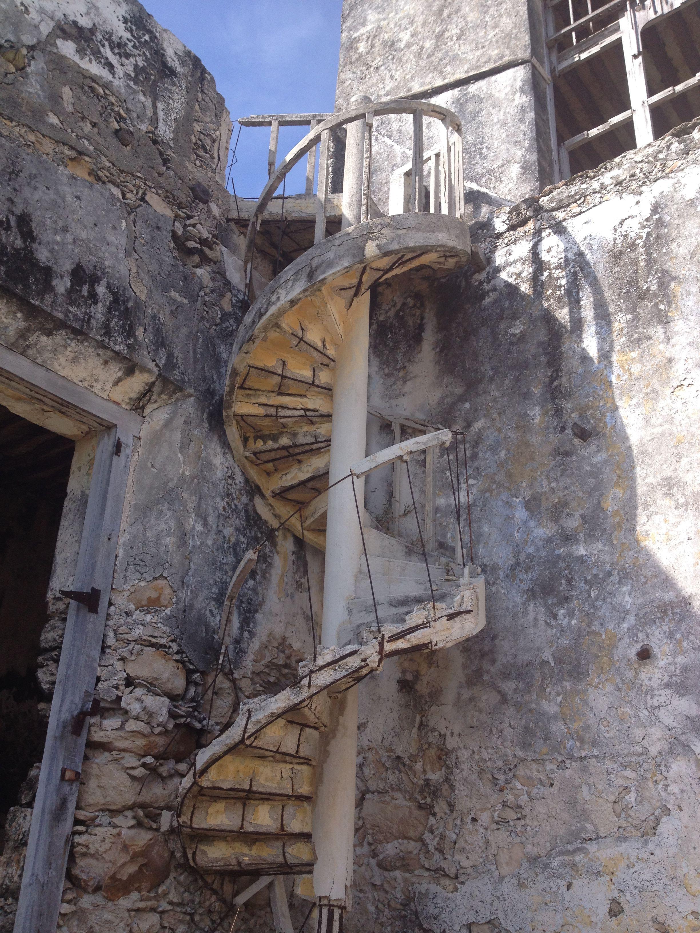 Best Run Down Spiral Staircase Near Progresso Mexico Travels 400 x 300