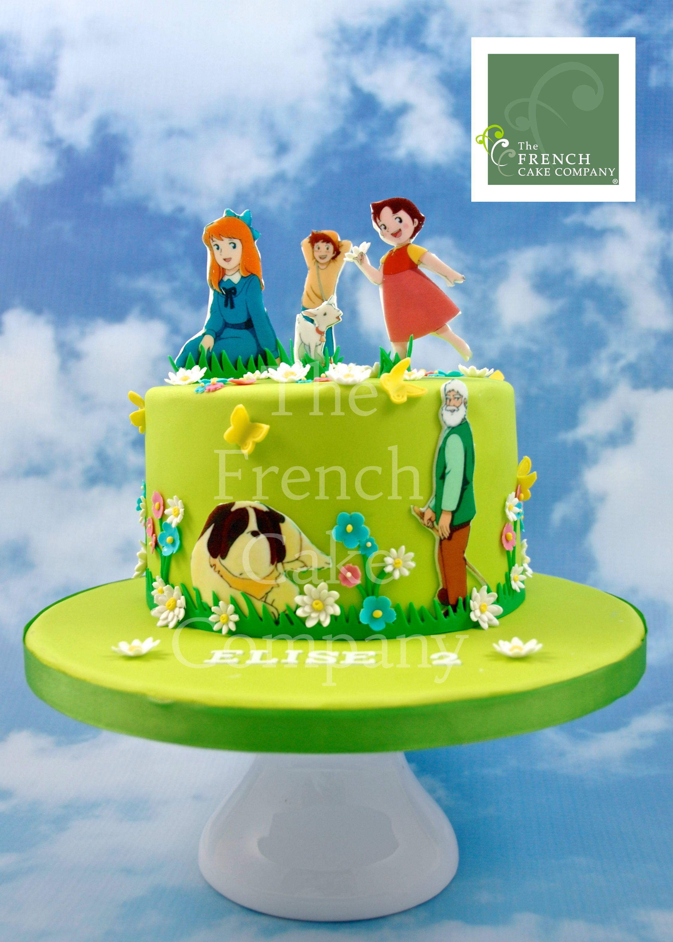 Childrens Birthday Cake Heidi